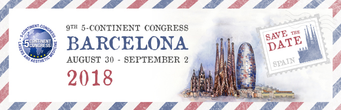 9° 5-Continent Congress Lasers & Aesthetic Medicine