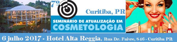 7º Seminário de Atualização em Cosmetologia de Curitiba