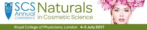 SCC Annual Conference – Naturals in Cosmetic Science 2017