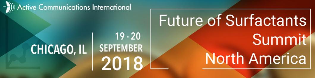 Future of Surfactants Summit North America