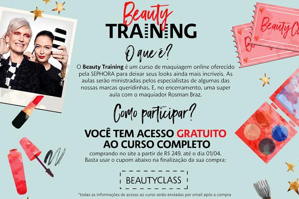 Sephora Brasil lança programa de aulas para clientes