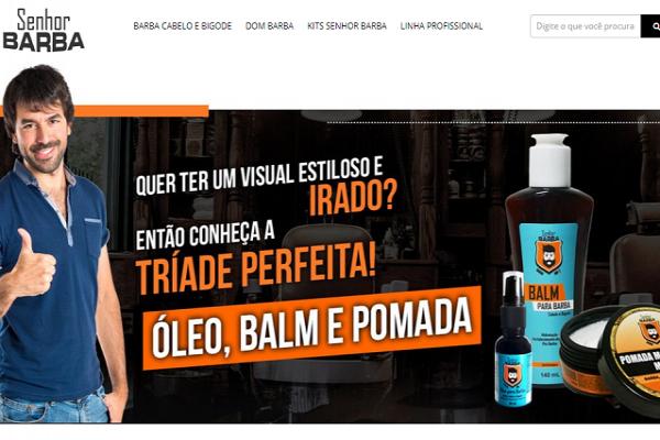 Senhor Barba lança e-commerce