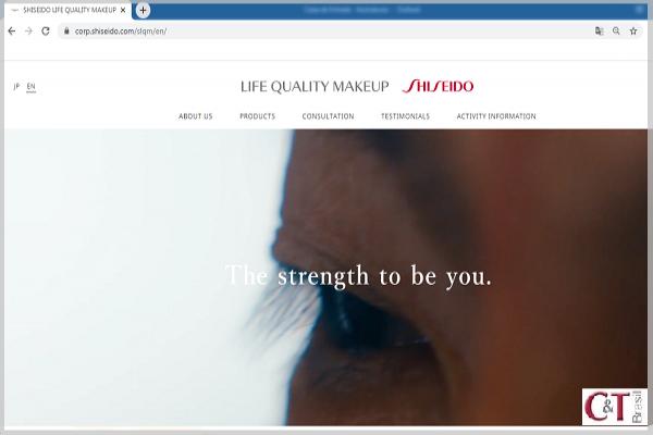 Shiseido renova site de maquiagem voltado a pacientes com câncer