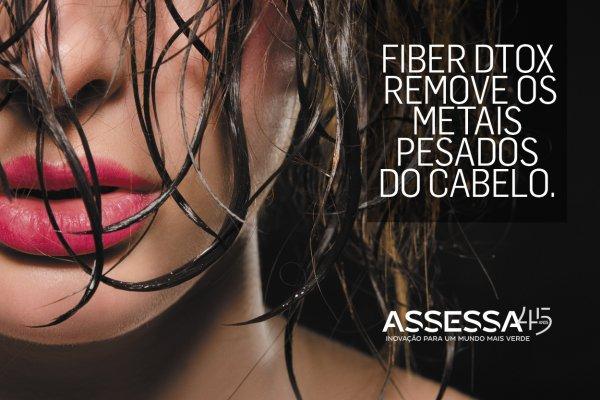 FIBER DTOX previne e elimina a acumulação de metais pesados nos fios