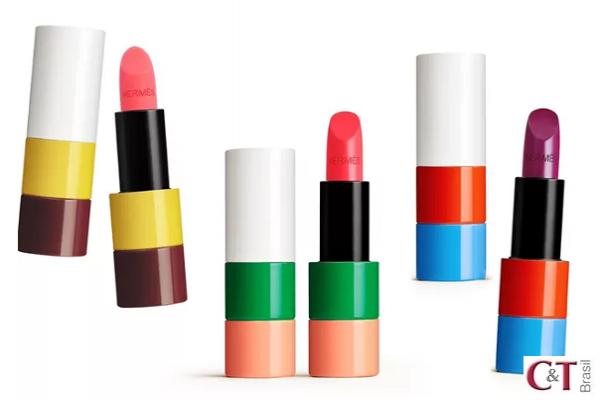 Hermès entra no mercado de maquiagem com coleção de batons