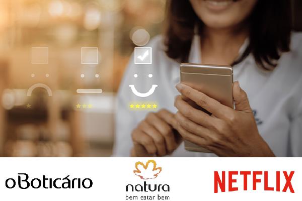 Boticário, Natura e Netflix são destaques em brand experience, diz pesquisa