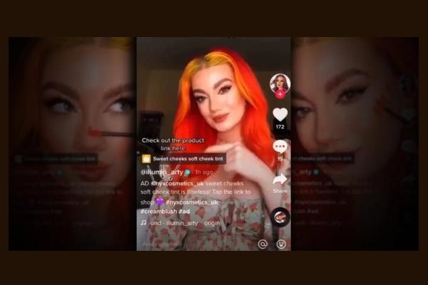 L'Oréal faz programa piloto de e-commerce com TikTok