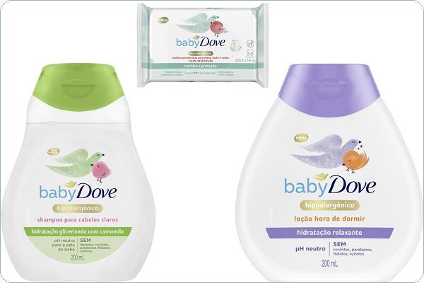 Baby Dove relança toda linha de produtos e amplia portfólio