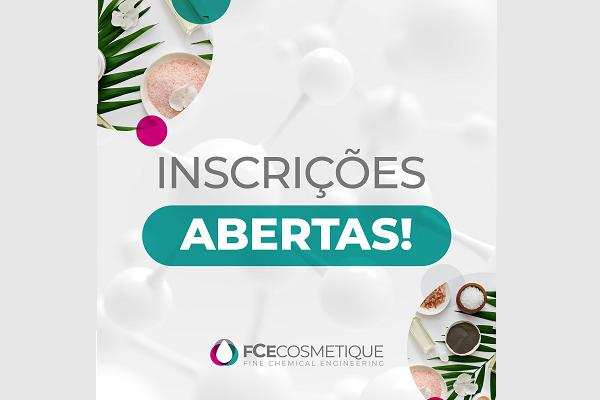 FCE Cosmetique tem inscrições abertas para evento presencial