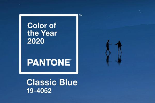 "Pantone anuncia ""classic blue"" como a cor de 2020"