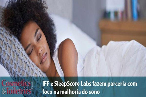 IFF e SleepScore Labs fazem parceria com foco na melhoria do sono