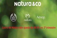 Lucro da Natura tem queda de 80,5% no 2º trimestre