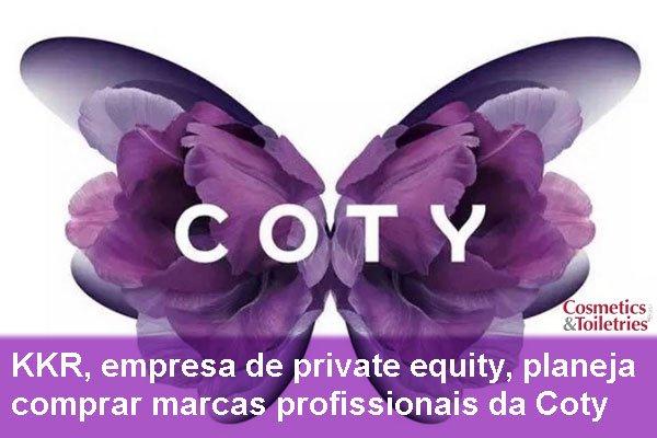 KKR, empresa de private equity, planeja comprar marcas profissionais da Coty
