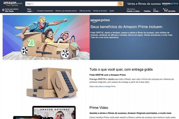 Amazon Prime chega ao Brasil