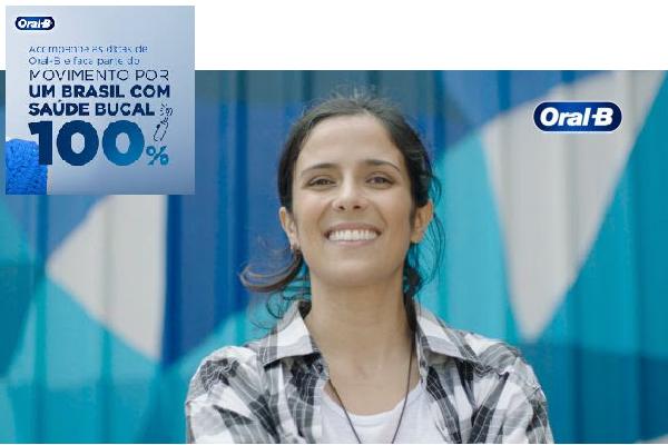 Oral-B lança campanha de conscientização sobre higiene bucal