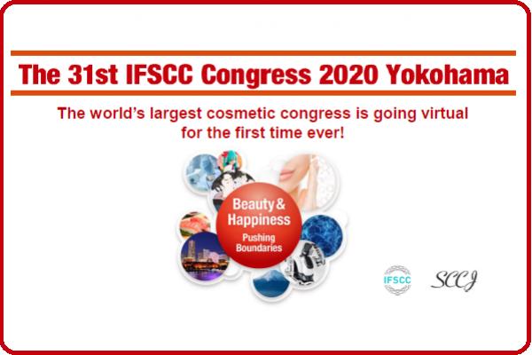 Congresso virtual da IFSCC terá 10 dias de programação