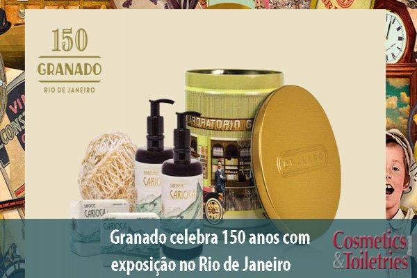 Granado celebra 150 anos com exposição no Rio de Janeiro