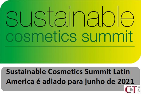 Sustainable Cosmetics Summit Latin America é adiado para junho de 2021