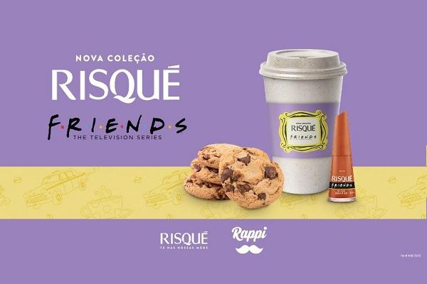 Risqué e Rappi fazem parceria para lançamento da coleção Friends