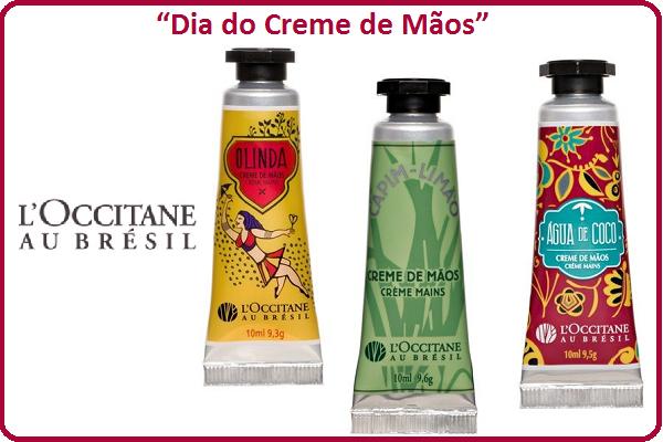 """L'Occitane au Brésil institui o """"Dia do Creme de Mãos"""""""