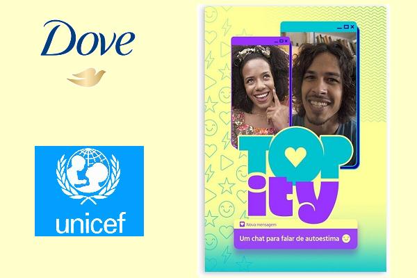Dove e Unicef lançam ferramenta de conversa on-line para adolescentes e jovens