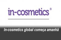 In-cosmetics global começa amanhã