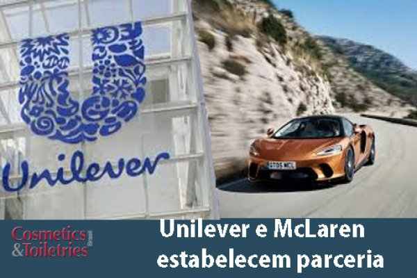 Unilever e McLaren estabelecem parceria