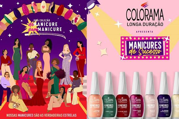 Colorama lança coleção cocriada com profissionais da beleza