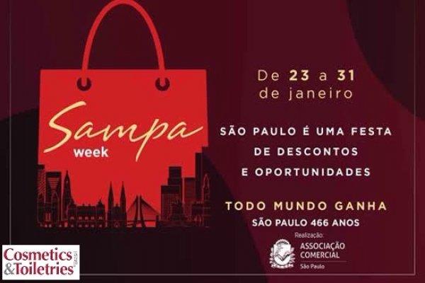 """São Paulo terá """"Sampa Week"""""""