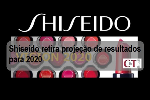 Shiseido retira projeção de resultados para 2020