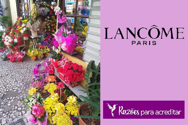 Lancôme desenvolve projeto para apoiar pequenas floriculturas de SP