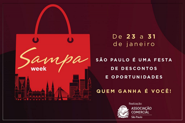 Semana de descontos em São Paulo