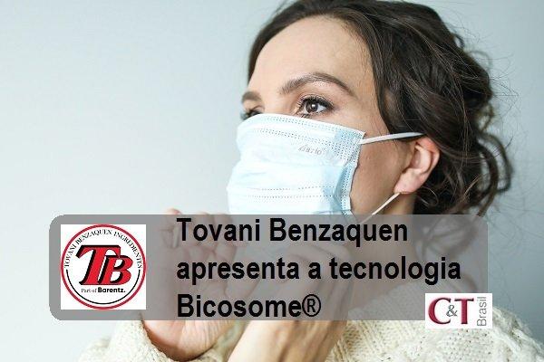 Tovani Benzaquen apresenta a tecnologia Bicosome®