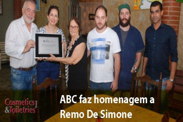 ABC faz homenagem a Remo De Simone
