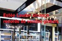 Estée Lauder alcança recorde de vendas globais