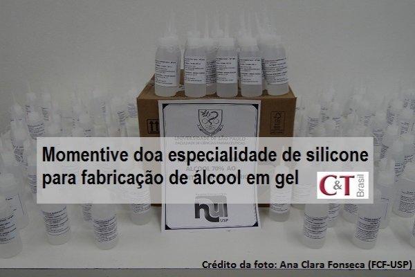 Momentive doa especialidade de silicone para fabricação de álcool em gel