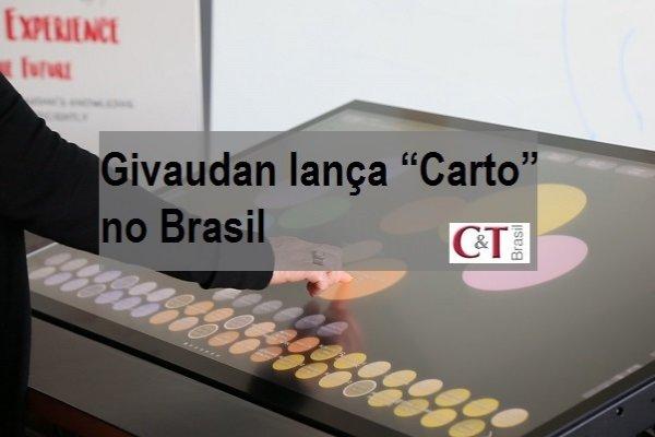 """Givaudan lança """"Carto"""" no Brasil"""
