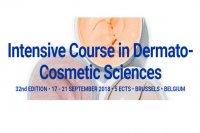 Curso sobre ciências dermato-cosméticas, em Bruxelas