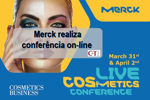 Merck realiza conferência on-line