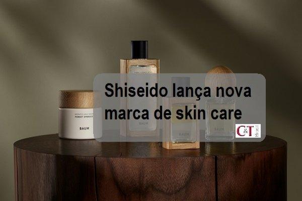 Shiseido lança nova marca de skin care