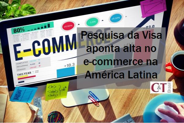 Pesquisa da Visa aponta alta no e-commerce na América Latina