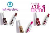 Avon e Globo fazem parceria para produtos da linha Color Trend