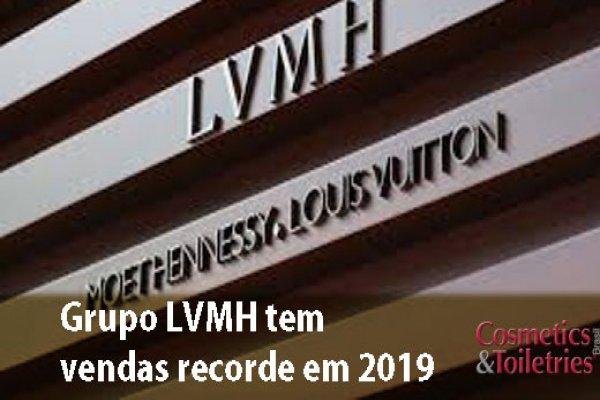 Grupo LVMH tem vendas recorde em 2019