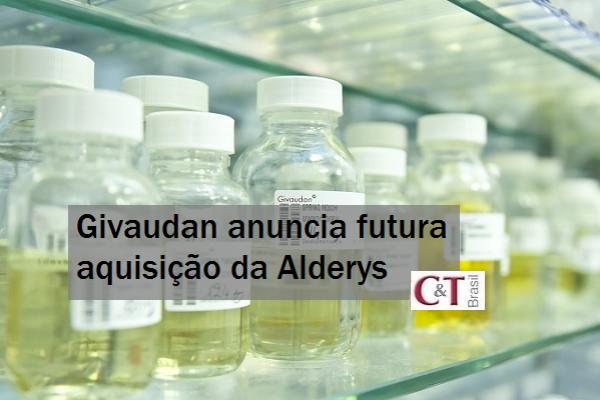 Givaudan anuncia futura aquisição da Alderys