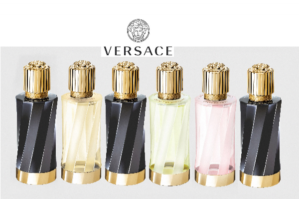 Versace apresenta fragrâncias unissex