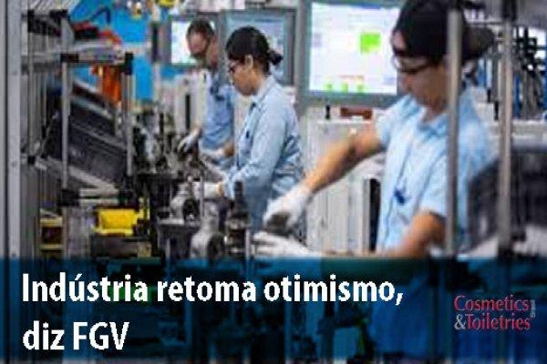 Indústria retoma otimismo, diz FGV