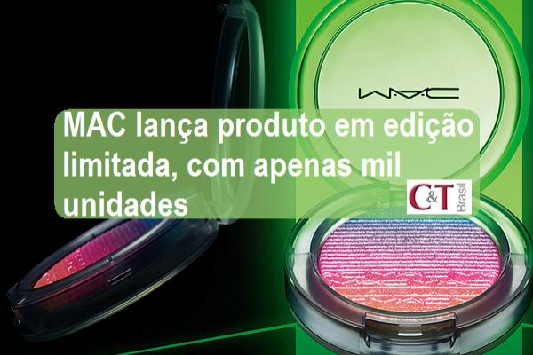 MAC lança produto em edição limitada, com apenas mil unidades