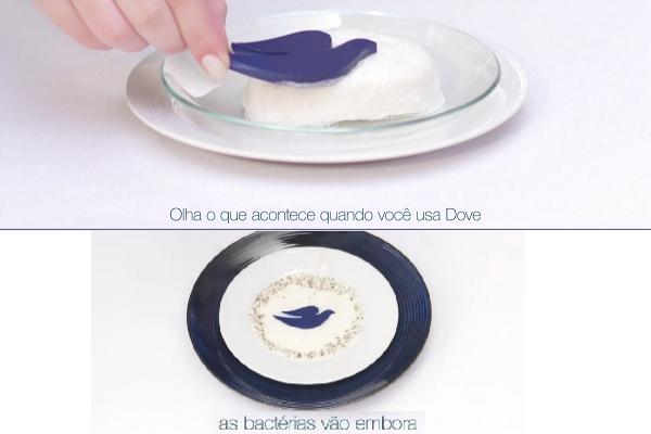 Campanha da Dove destaca a proteção contra bactérias, sem ressecamento da pele