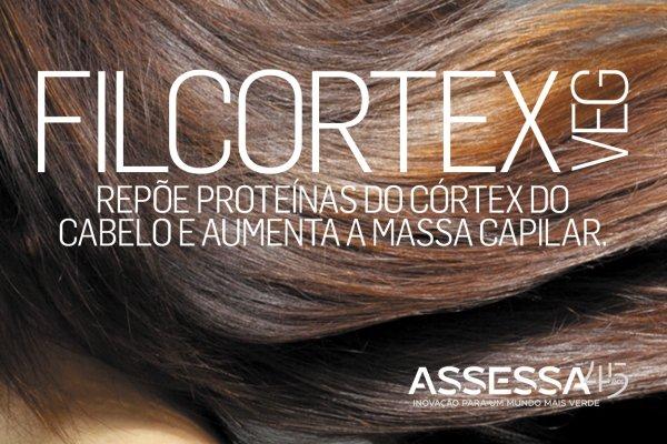 FILCORTEX VEG: Baseado em proteômica capilar, o ativo da Assessa repõe proteínas do córtex e aumenta a massa do cabelo