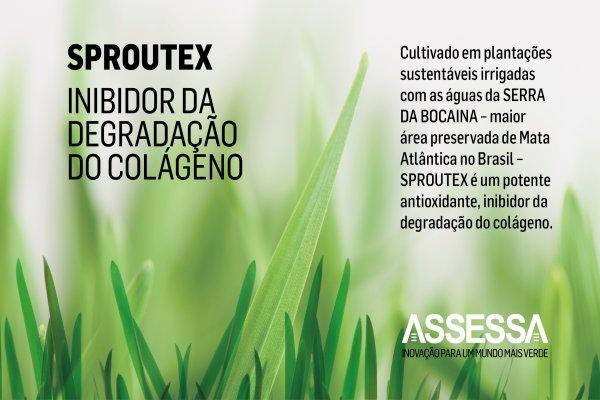 Sproutex: Inibidor da degradação do colágeno